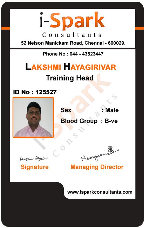 ID Card Designs Nagercoil